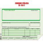 Póliza Cheque